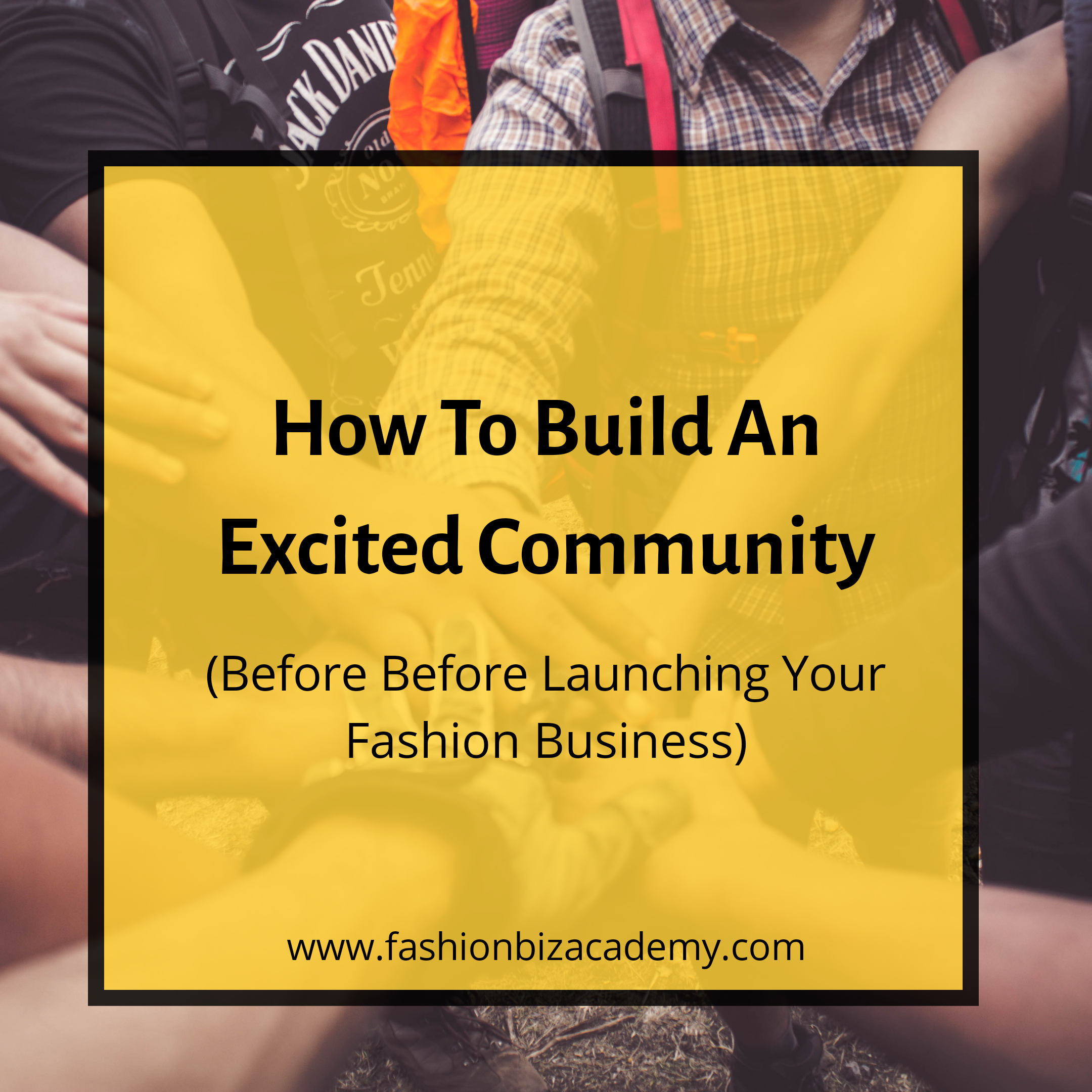 Build an excited community