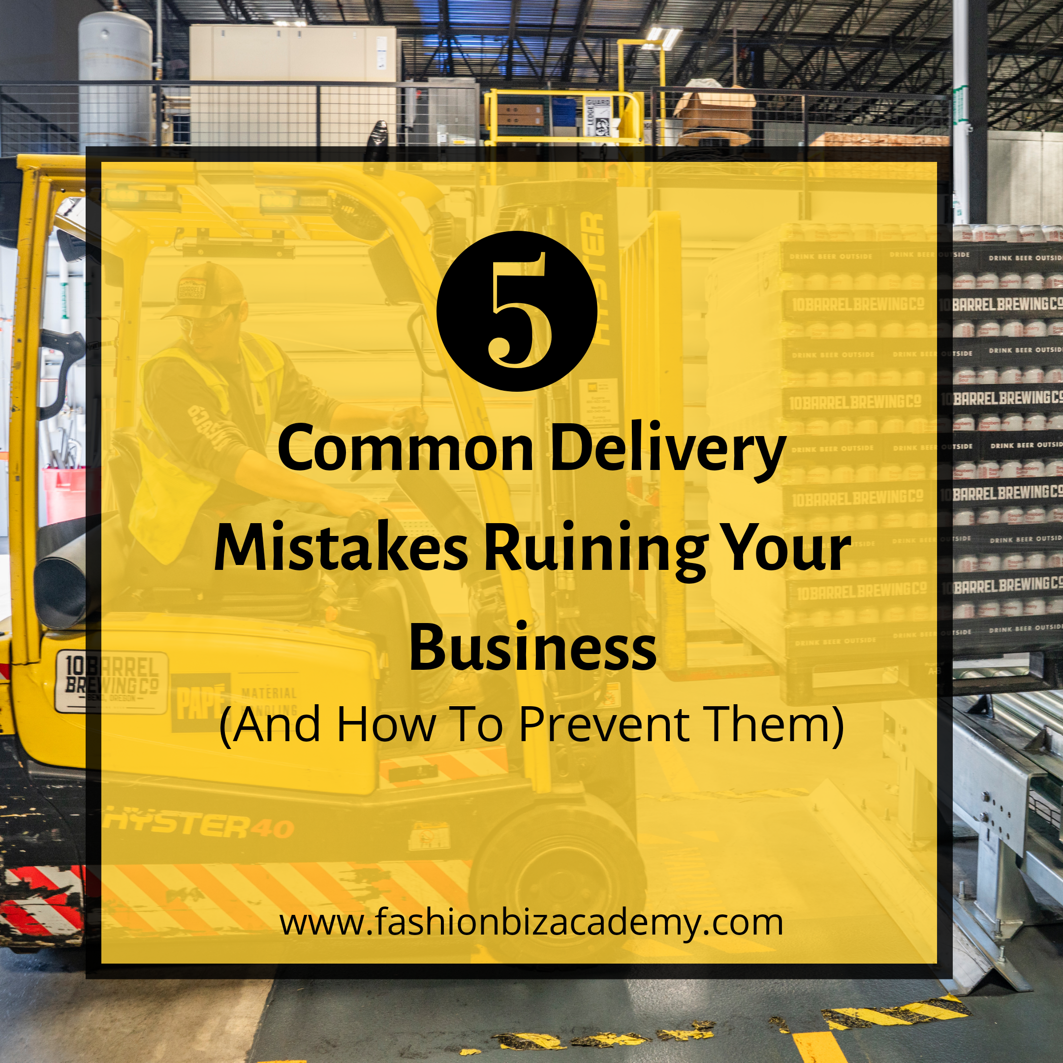 5 Common Delivery Mistakes Ruining your Business